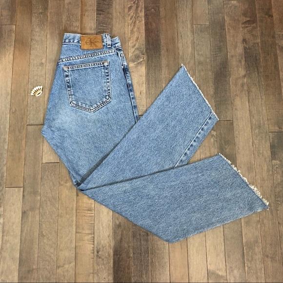 Calvin Klein Denim - Vintage Calvin Klein Custom Cropped Jeans!!!